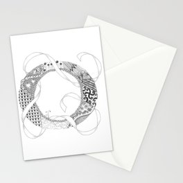 "Zenletter ""O"" Stationery Cards"