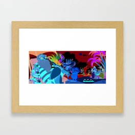 ROTG- Beach Rest Framed Art Print