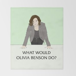 What Would Olivia Benson Do? Throw Blanket