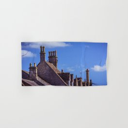 Cotswold Skyline Stow on the Wold England Hand & Bath Towel