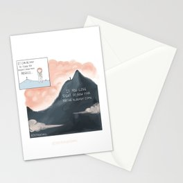 How Far You've Come Stationery Cards