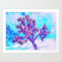 Joshua Tree Skies by CREYES Art Print