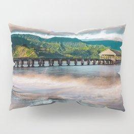 Hanalei Pier Kauai Hawaii  Pillow Sham