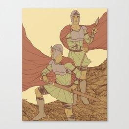 Castor And Pollux (hi-res) Canvas Print