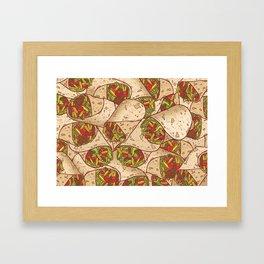 Burritos Framed Art Print