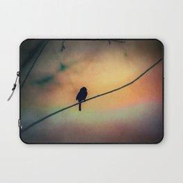 Bird Silhouette Laptop Sleeve