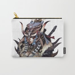 skull clan warrior Carry-All Pouch