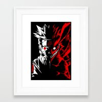 naruto Framed Art Prints featuring Naruto by offbeatzombie