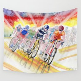 Adrenalin Rush Wall Tapestry