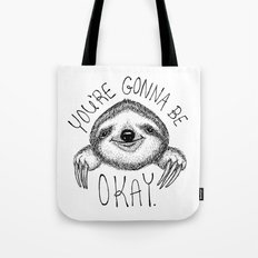 Slothspiration Tote Bag