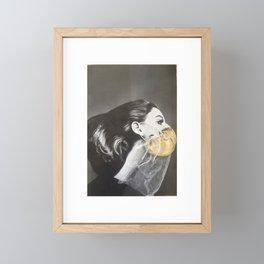 Miss Isolation Framed Mini Art Print