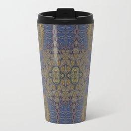 Goldblue Mandalic Pattern 3 Travel Mug