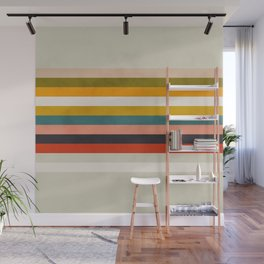 modern abstract stripe geometric Wall Mural