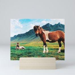 Shelter Mini Art Print