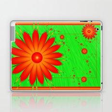 Field of Orange Daisies Laptop & iPad Skin