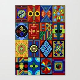 Rectangles Canvas Print