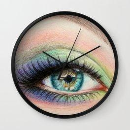 eye I Wall Clock