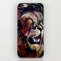 Friendly Lion iPhone & iPod Skin