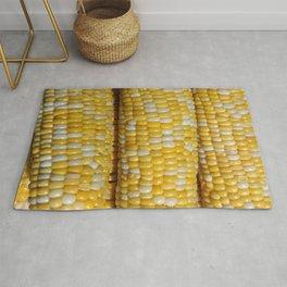 Stack of Corn Cobs Rug