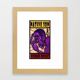 Native Son Framed Art Print