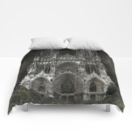 Cathedral Black Comforters