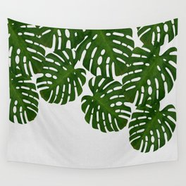 Monstera Leaf I Wall Tapestry