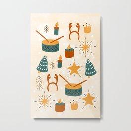Christmas Toys Metal Print