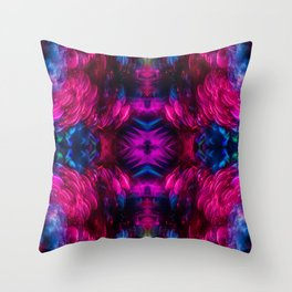 Eye Kaleidoscope Candy Throw Pillow