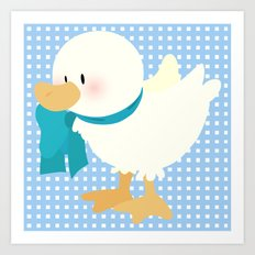duck (male) Art Print
