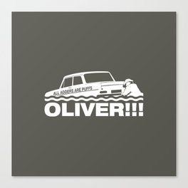 Top Gear: Oliver Canvas Print