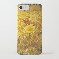 coral iPhone & iPod Cases featuring Coral by Deborah Janke