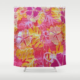 FERNS & FLOWERS  Shower Curtain