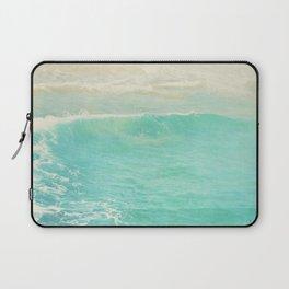 beach ocean wave. Surge. Hermosa Beach photograph Laptop Sleeve