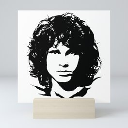 PORTRAIT OF A  27 CLUB MUSICIAN Mini Art Print
