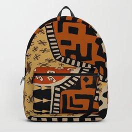 African Tribal Earth Spirits Backpack