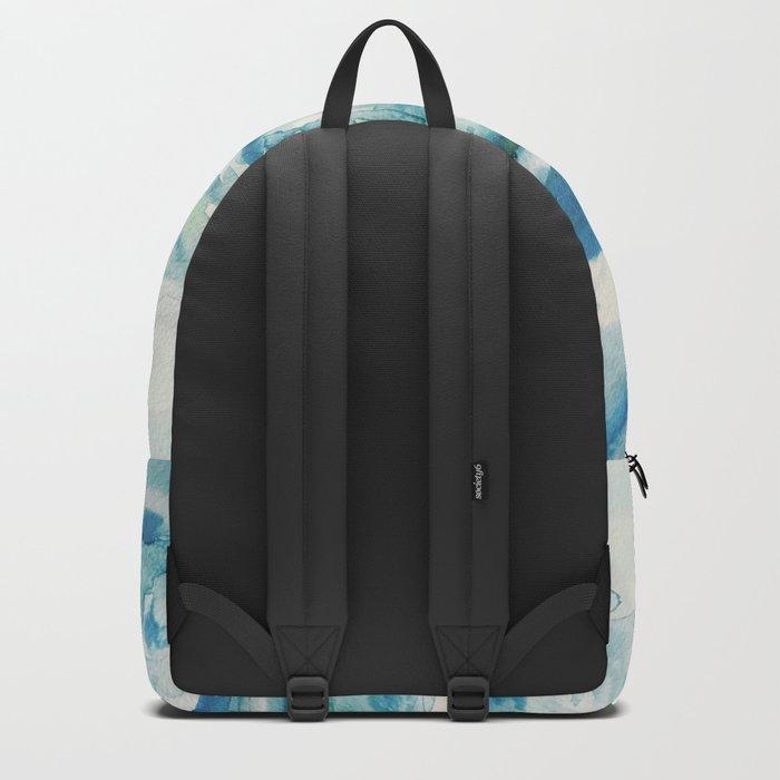 Miami Beach Watercolor #2 Backpack
