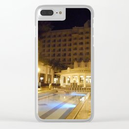"""""""The Riu Vallarta"""" Clear iPhone Case"""