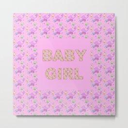 Baby Girl 3 Metal Print