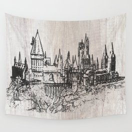 Hogwarts School of Witchcraft and Wizardry Wall Tapestry