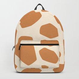 Giraffe skin pattern for decoration Backpack