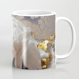 Winter Rose Fantasy Jewelry Art Coffee Mug