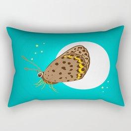Moonlight Butterfly Rectangular Pillow