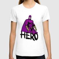 hero T-shirts featuring Hero by Logan_J