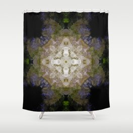 Essential Lace Shower Curtain
