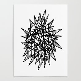See-Through Star Poster
