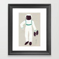 Astronaut Outfit Framed Art Print