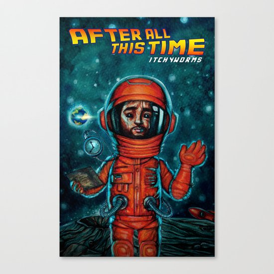 After All This Time Canvas Print