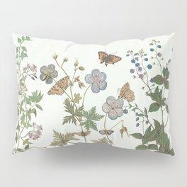 The fragility of living - botanical illustration Pillow Sham