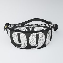 Life Begins 1990 The Birth Of Legend 31st Birthday Fanny Pack