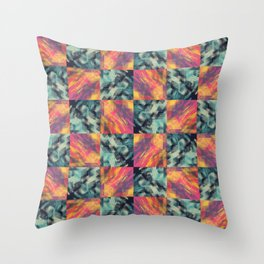 Somewhere in Paradise Throw Pillow